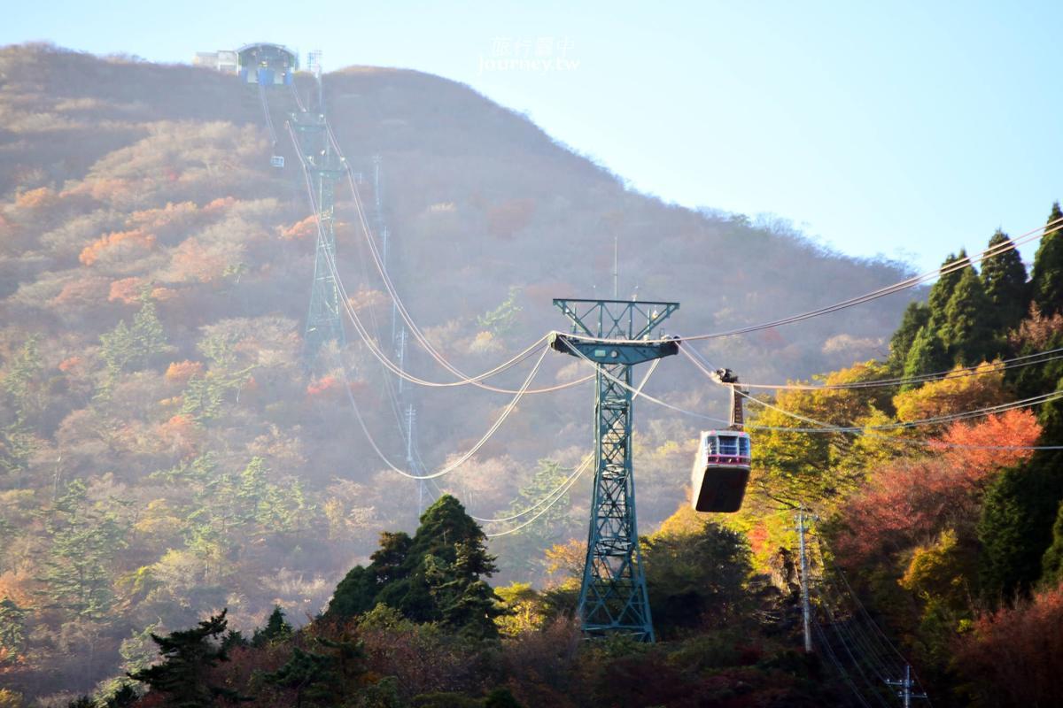 大分、別府|別府鶴見岳空中纜車・十分鐘的空中散步浪漫滿分