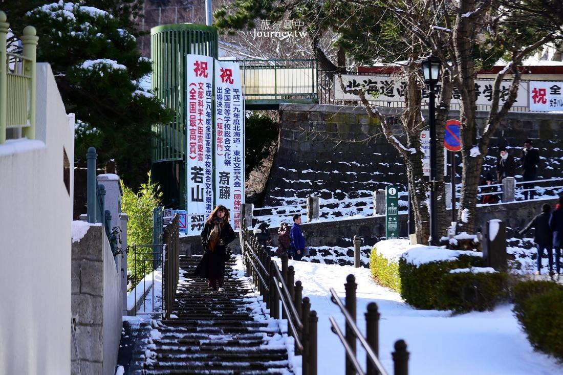 八幡坂,函館,函館景點,北海道,北海道景點