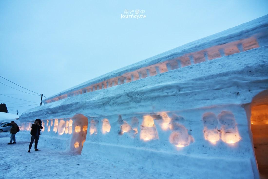 日本,山形,月山,志津溫泉,雪旅籠燈祭,雪旅籠の灯り