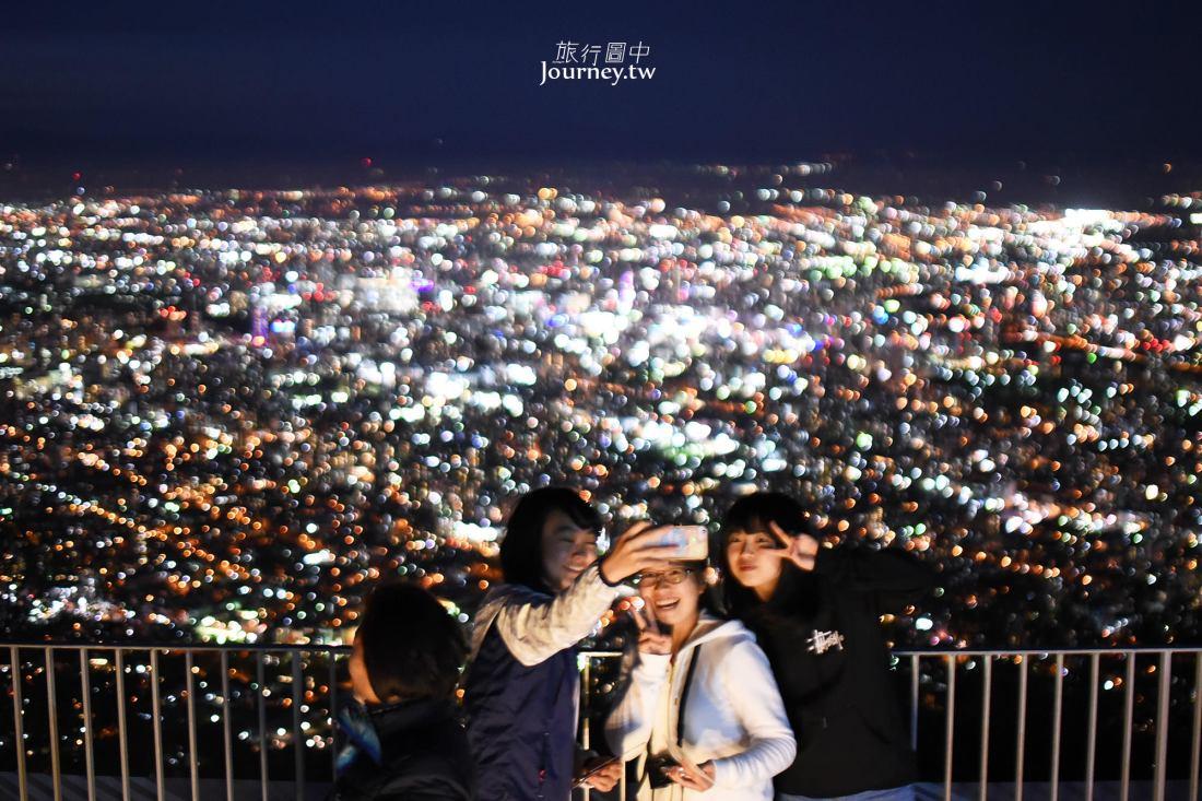 日本新三大夜景,藻岩山,夜景攻略,交通方式,纜車,票價,折價券,夜景,拍攝建議