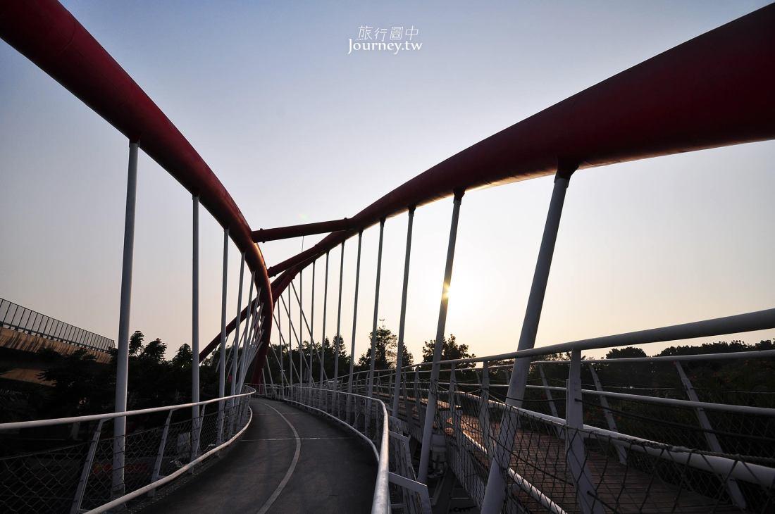 屏東,麟洛,單車國道,幸福紅橋