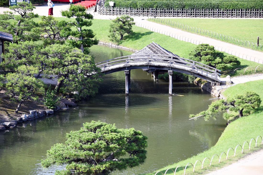 岡山,岡山景點,後樂園,日本,三大名園,庭園