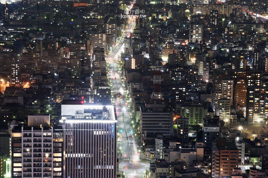 名古屋景點,名古屋夜景,觀景台,Sky Promenade