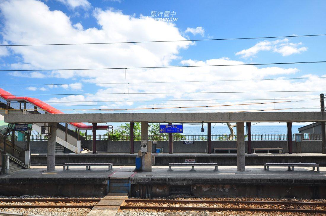 台鐵宜蘭線,大里車站,大里老街,天公廟,龜山島