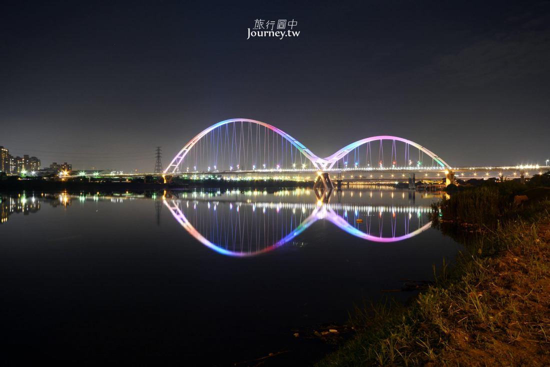 新北,新莊,新月橋