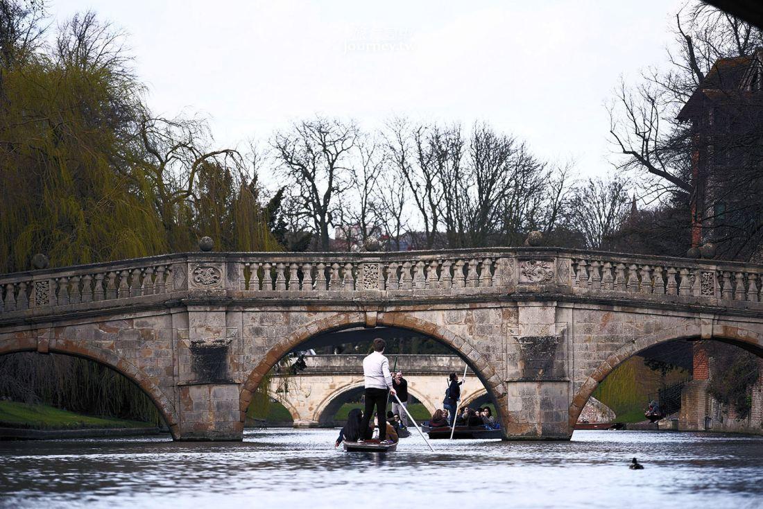 英國,劍橋,康河撐篙,Punting in Cambridge,康河,劍橋大學