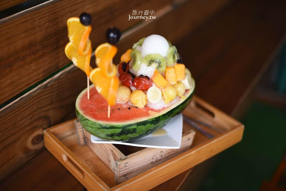 台南,美食,安平,南泉冰菓室,西瓜冰,芒果冰,番茄蜜餞冰