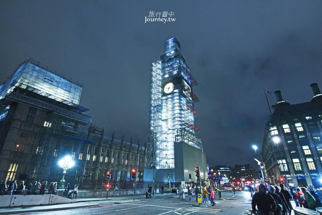 英國,倫敦,倫敦自由行,倫敦景點,大笨鐘,維修,bigben