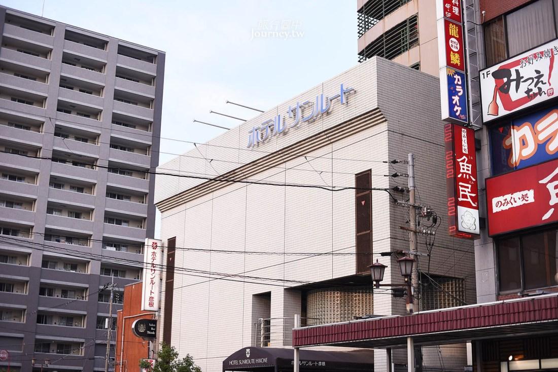 滋賀住宿,彦根,彦根燦路都大飯店,彦根車站,Hotel Sunroute Hikone