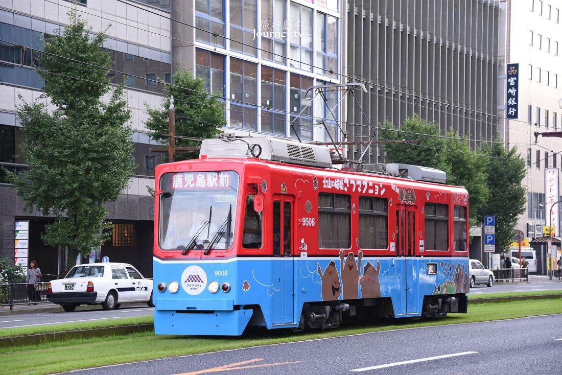 鹿兒島市電,鹿兒島景點,路線,搭乘方式,日本最南端的路面電車,鹿兒島電車,鹿兒島一日遊