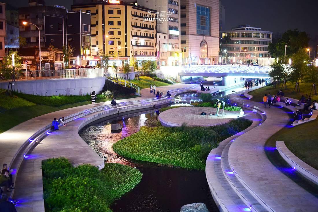台中,中區,柳川水岸景觀步道,台中車站,台中景點,taichung