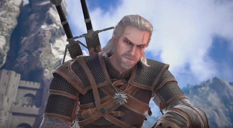Geralt of Rivia Soul Calibur VI