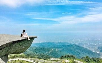 宜蘭景點推薦♥ 俯瞰蘭陽平原櫻花陵園 礁溪渭水之丘 媲美鷹石尖 ♥ 小Connie愛夢遊。遊記