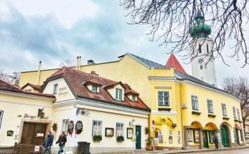 [奧地利維也納-景點推薦]漫步於充滿特色小酒館的格林津Grinzing釀酒童話小鎮+卡倫山俯瞰維也納近郊Kahlenberg 內含交通資訊 ♥ 小Connie愛夢遊。遊記