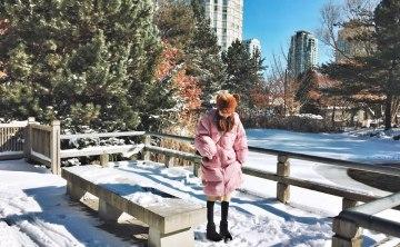[加拿大多倫多-景點推薦]Mississauga充滿日本氛圍的Kariya Park『刈谷公園』 春天賞櫻 秋天賞楓 冬天賞雪好去處 ♥ 小Connie愛夢遊。遊記