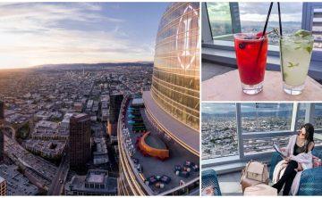 美國洛杉磯景點推薦♥ Spire 73 ♥美國最高的頂樓露天酒吧 夜景約會(Downtown / InterContinental)♥Joyce食尚樂活。LA食記