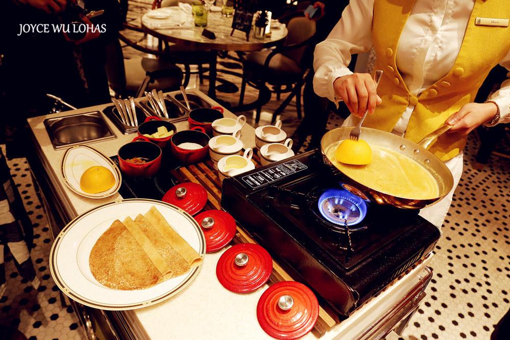 [澳門。氹仔。美食] ♥ 麗思咖啡廳 The Ritz-Carlton Café ♥ 沉醉在藝術氛圍的浪漫法式小館晚餐 橙香火焰可麗餅 ...