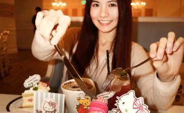 [cafe] Dazzling Café蜜糖土司專賣店 x Hello Kitty主題聯名咖啡廳♥ 2013/01/11新春夢幻登場 (Mint/Sunshine/Deluxe) ♥ JoyceWu。食記