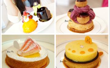 [法式。甜點] Petite Amie 珀達蜜♥♥美術館綠園道中的精緻法式甜點店 蛋糕 下午茶 檸檬塔 可麗露 鹹派 禮盒 (台中市/西區) ♥ JoyceWu。食記