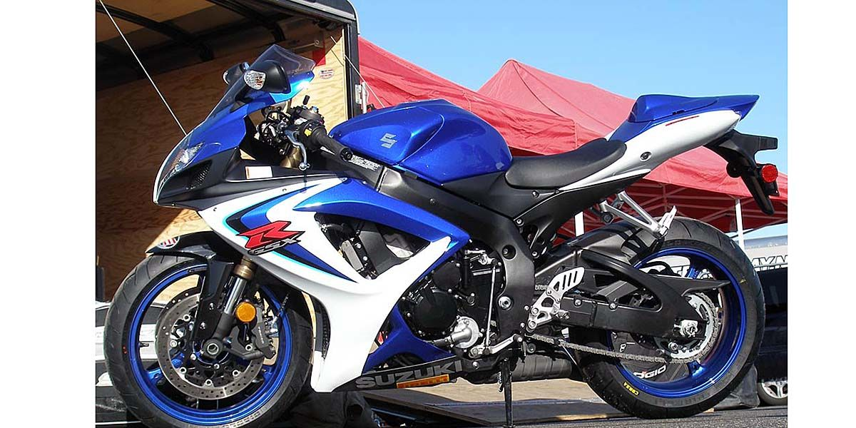 2006 gsx r600 review on countersteer