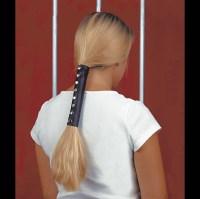 Hair Glove Solid Black Leather Hair Wrap   150-357   J&P ...