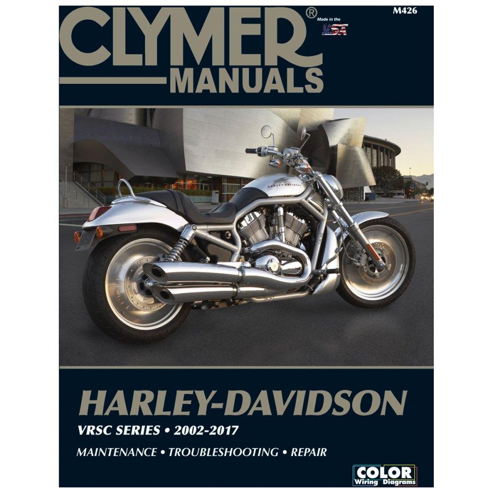 medium resolution of clymer 2002 14 vrsc repair manual