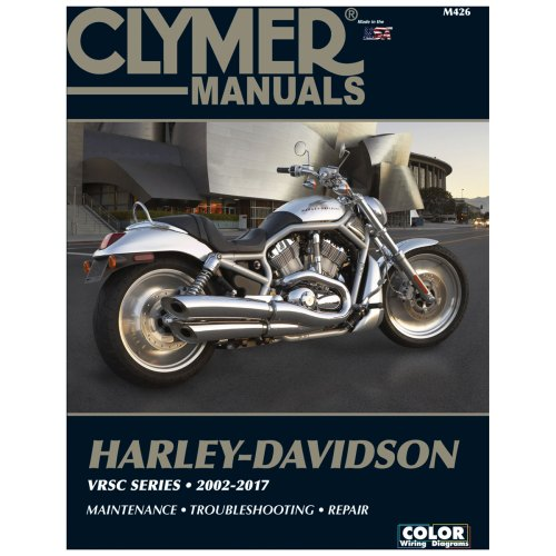 small resolution of clymer 2002 14 vrsc repair manual