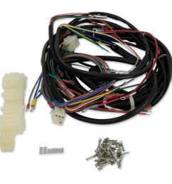 v twin manufacturing builders kit wire harness [ 1200 x 1200 Pixel ]