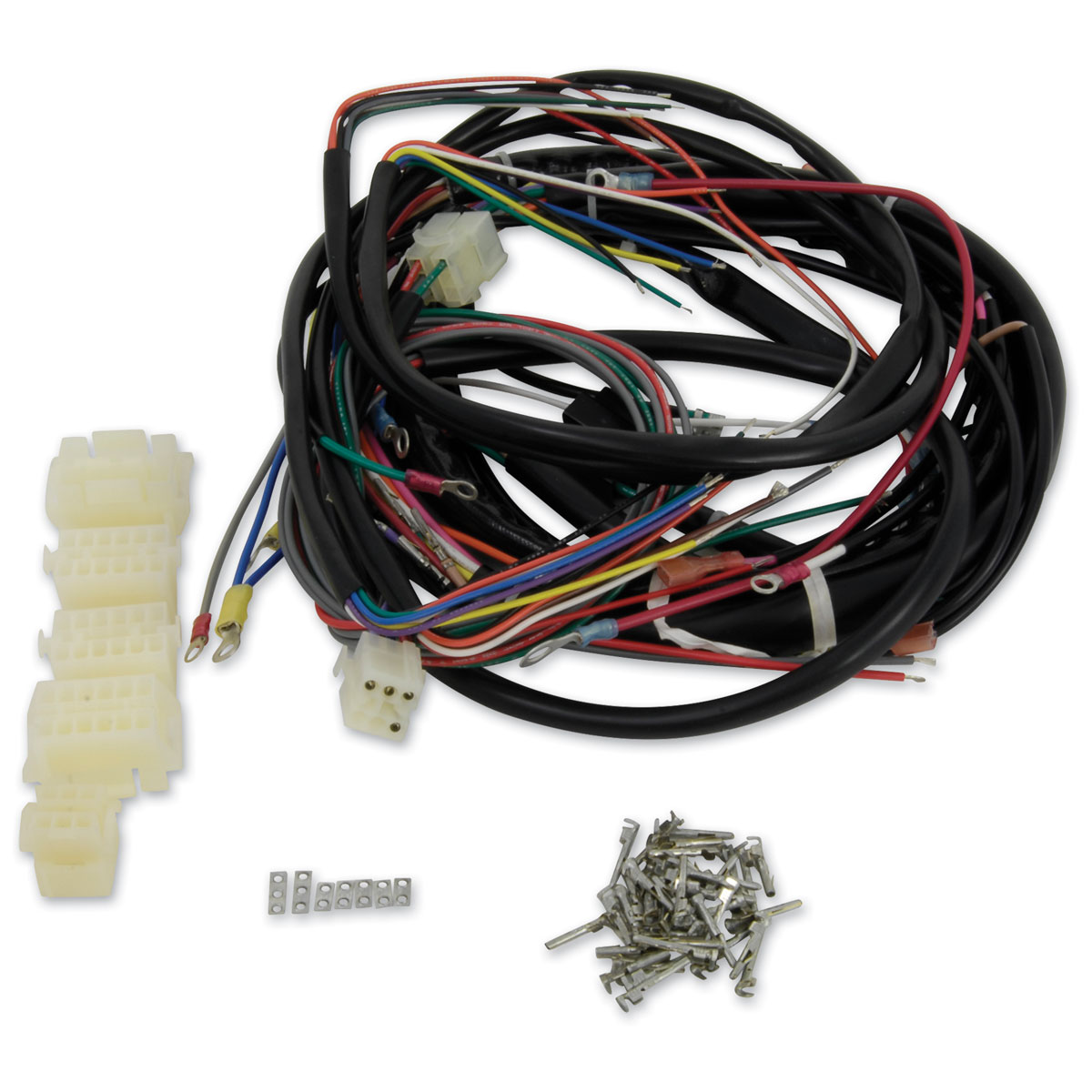 hight resolution of v twin manufacturing builders kit wire harness