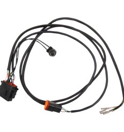 drag specialties speedometer wiring harness kit [ 1201 x 1200 Pixel ]