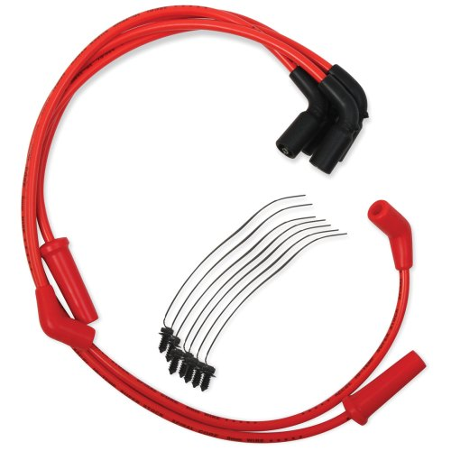 small resolution of accel red s s 8mm spiral core wire set