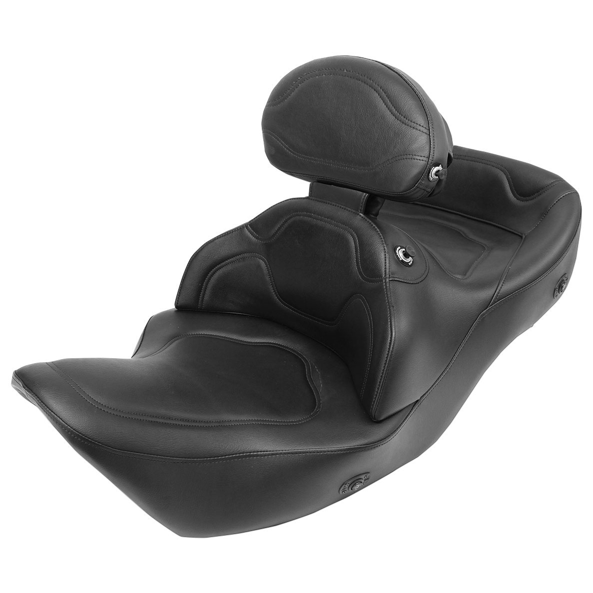 road sofa seat goldwing corduroy sectional with chaise saddlemen heated driver backrest and trunk pad