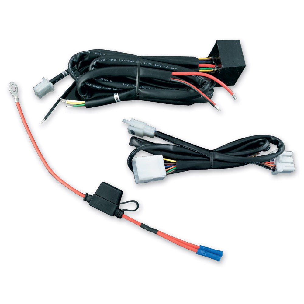 medium resolution of kuryakyn plug and play trailer wiring and relay harness 7672 rh jpcycles com harley wiring simplified harley wiring color code