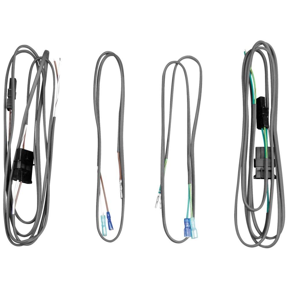 medium resolution of j m saddlebag lid or rear pod speaker wiring harness kit