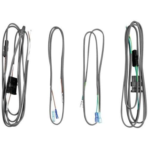 small resolution of j m saddlebag lid or rear pod speaker wiring harness kit