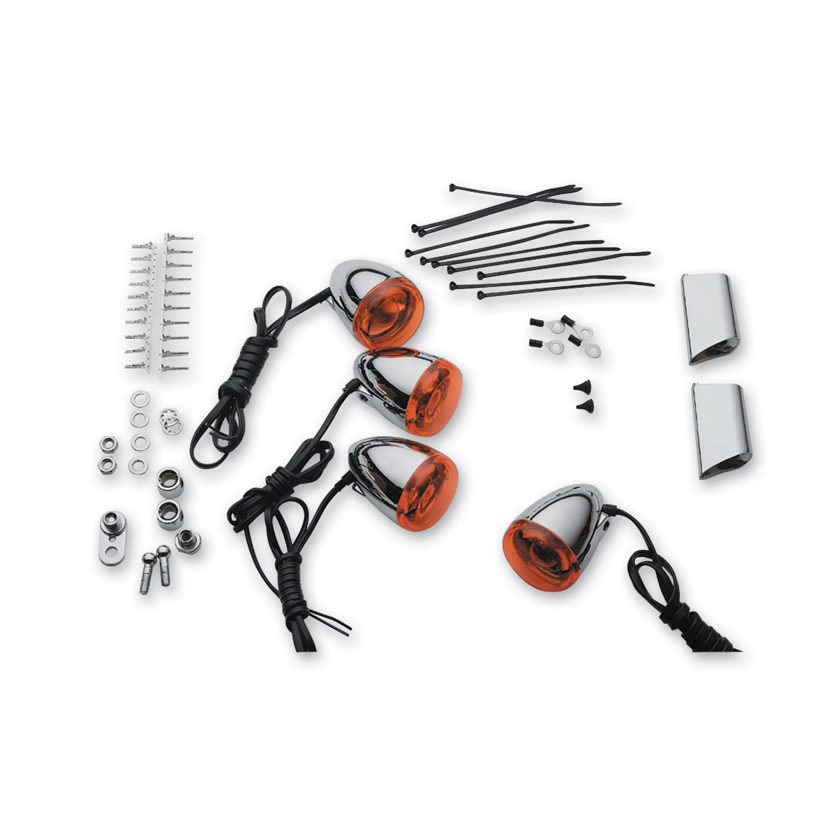 J Amp P Cycles Bullet Turn Signal Kit