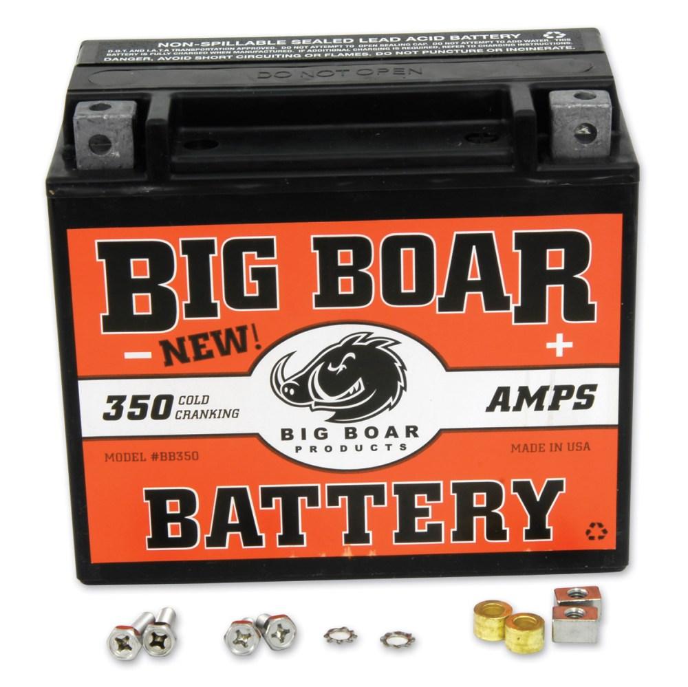 medium resolution of motorcycle batteries motorcycle electrical parts j p cycles big boar battery mga subassembly wiring