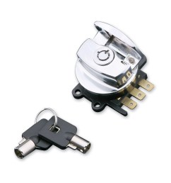 j p cycles chrome side hinge ignition switch [ 1201 x 1200 Pixel ]