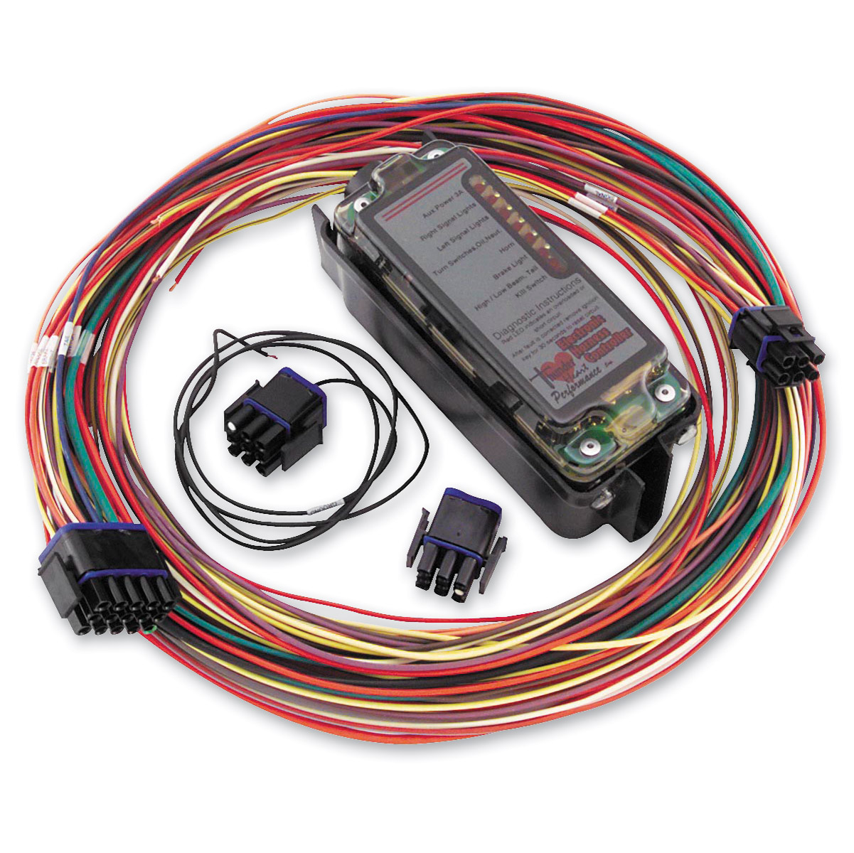 hight resolution of thunder heart performance complete electronic harness controller harley davidson extended wiring harness harley davidson wiring harness