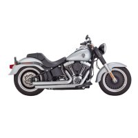Vance & Hines Big Shots Staggered Exhaust Chrome | 533-778 ...