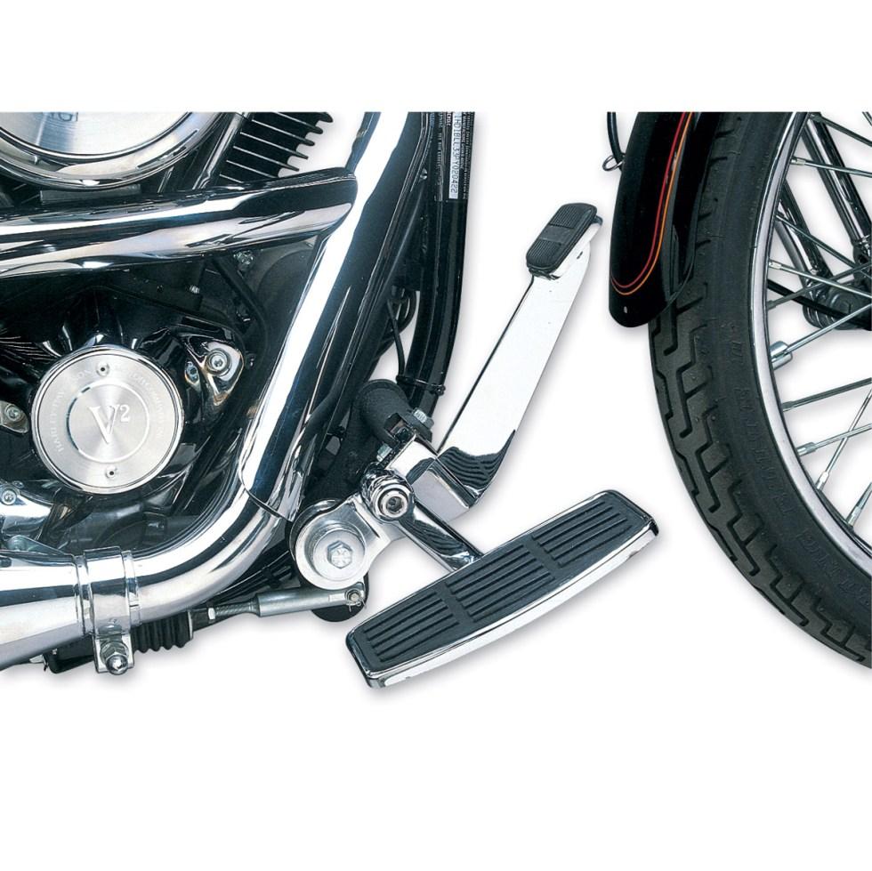 J&P Cycles® Adjustable Driver's Mini-Floorboard Kit ...