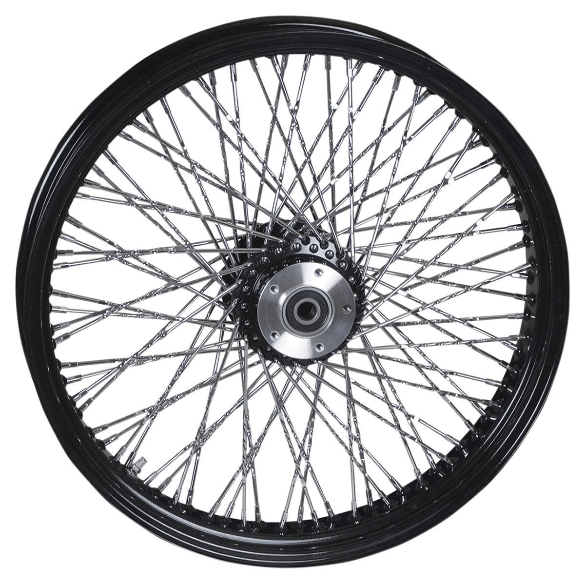 Paughco Black 80 Spoke Front Wheel 21 X 3 5