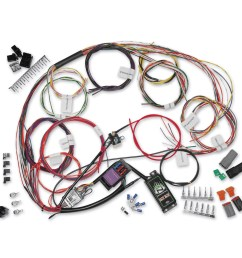 namz custom cycle complete bike wiring harness kit ncbh 01 a harley shovelhead wiring harness namz [ 1200 x 1200 Pixel ]