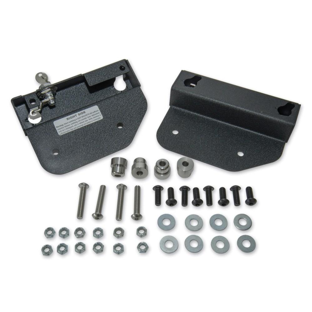 medium resolution of easy brackets saddlebag mounting system