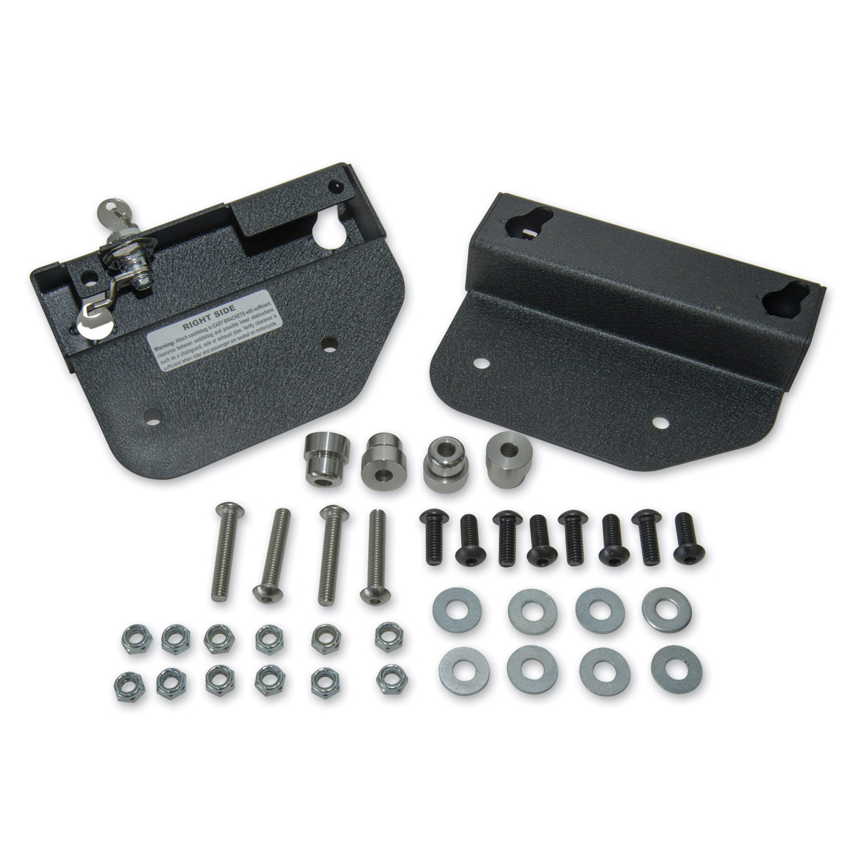hight resolution of easy brackets saddlebag mounting system