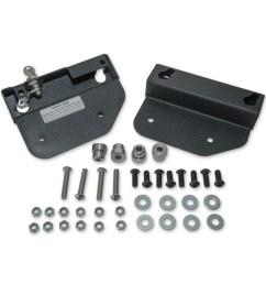 easy brackets saddlebag mounting system for detachable backrest [ 1201 x 1200 Pixel ]