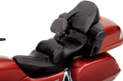 road sofa seat goldwing memory foam sleeper mattresses saddlemen deluxe touring with driver backrest h988j