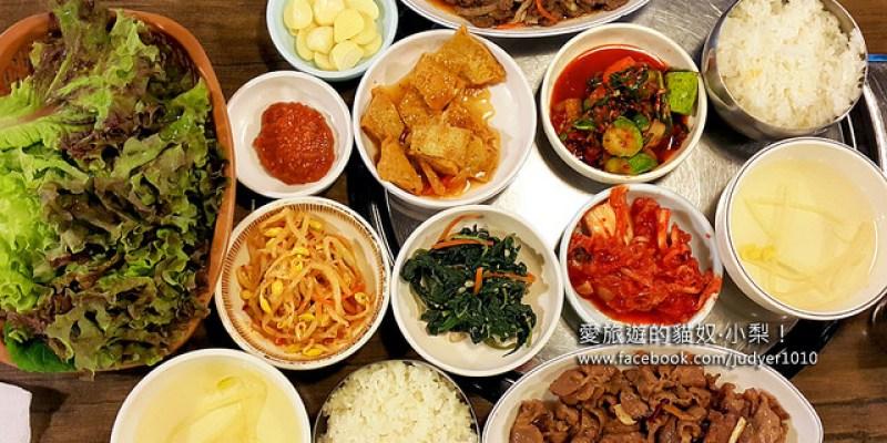【韓國東大門美食】東大排骨王동대갈비왕,一個人就能大口享用的烤肉套餐,豬肉、牛肉都有哦!