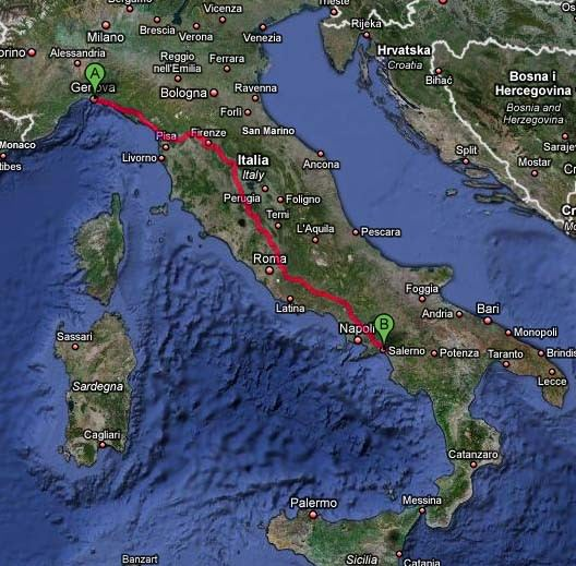 義大利蜜月Day6:莎雷諾→阿瑪菲海岸→蘇連多→藍洞→卡布里島→蘇連多民謠之夜
