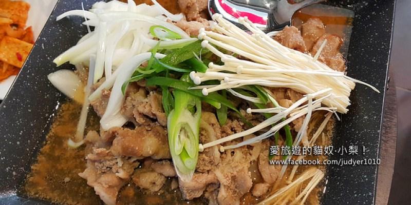 【韓國美食】六先生烤肉육선생\麻浦站,巷弄中意外發現的美味,甜甜的蜜汁炒豬肉特餐好好吃!